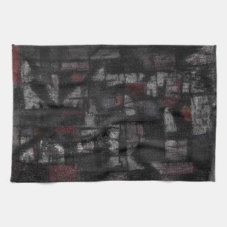 """Tea Towel 40.6 cm x 61 cm """"On the rain"""""""