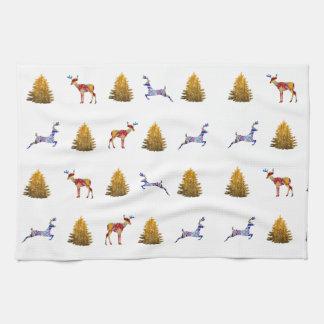 Tea Towel  Cute Christmas