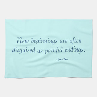 Tea Towel - new beginnings