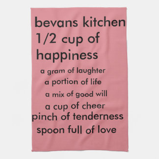 tea   towel on life