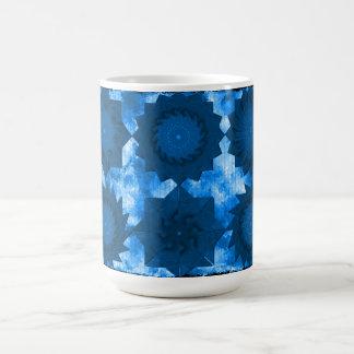 Teabag Folding Blue Coffee Mug
