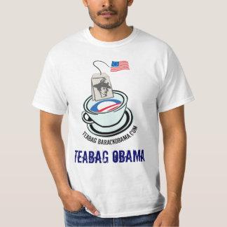 TEABAG OBAMA Shirt