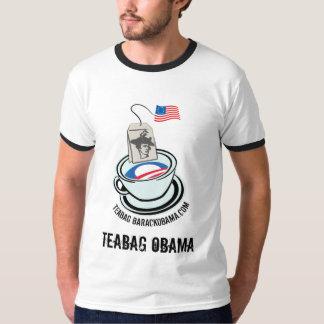 TEABAG OBAMA Tea-Shirt Tshirts