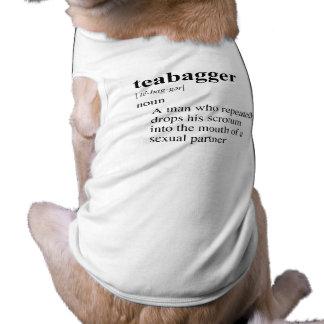 TEABAGGER 2 DOG TEE SHIRT