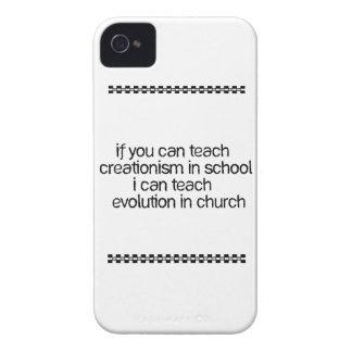 Teach Evolution In Church iPhone 4 Case-Mate Case