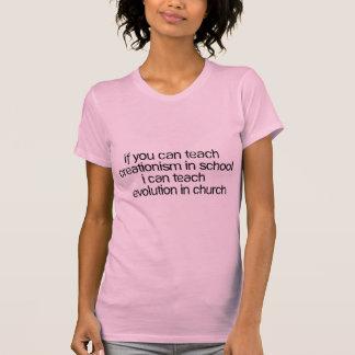 Teach Evolution In Church Shirts
