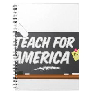 Teach For America Spiral Notebook