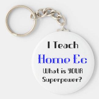 Teach home ec key chain