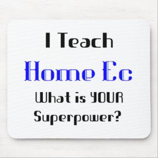 Teach home ec mouse pad