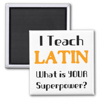 Teach Latin Magnet