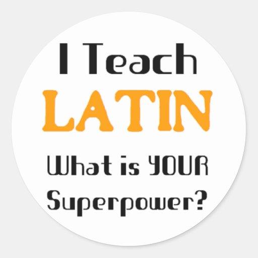 Teach Latin Sticker