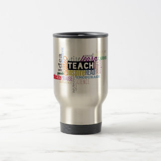 Teach. Learn. Grow. Travel Mug