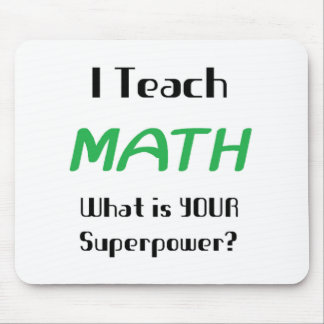 Teach math mouse pad