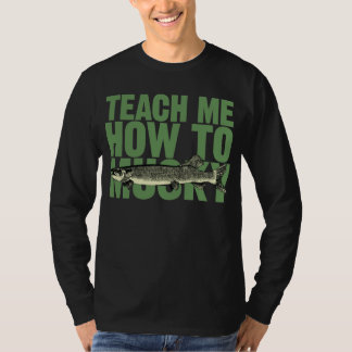 Teach Me How To Musky (green) T-Shirt