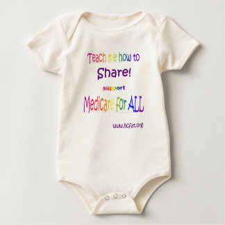 Teach me how to share baby bodysuit