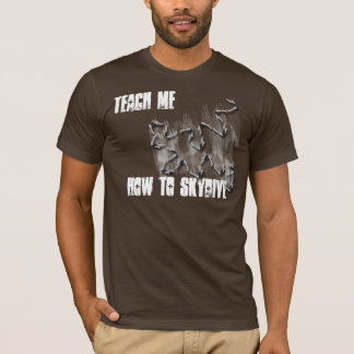 teach me how to sky dive shirt