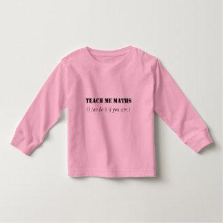Teach me maths toddler T-Shirt