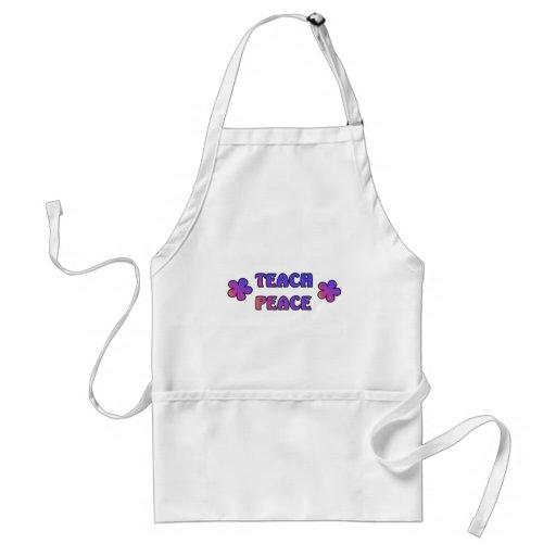 Teach Peace Apron