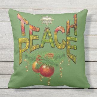 Teach Peace Cushion