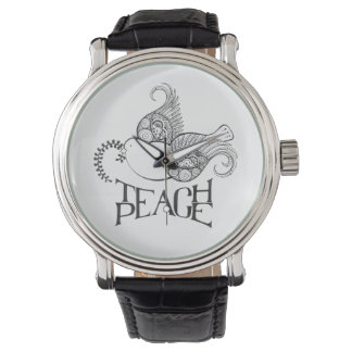 Teach Piece Watch Henna Inspired Original Design