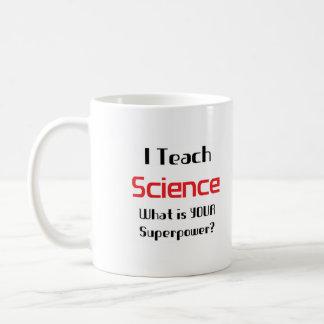 Teach science coffee mug