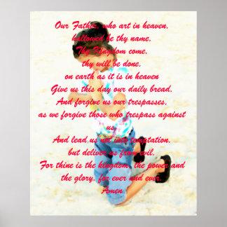 Teach us to pray...... poster