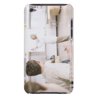 Teacher and Students in Lab 2 Barely There iPod Case
