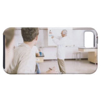Teacher and Students in Lab 2 iPhone 5 Case