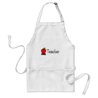 Teacher Apple Adult Apron