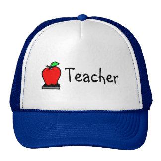 Teacher Apple Mesh Hat