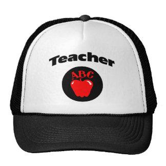 Teacher Apple Mesh Hats