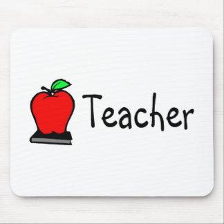 Teacher Apple Mouse Pad