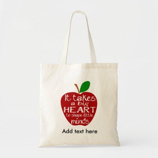 Teacher Apple thank you bag
