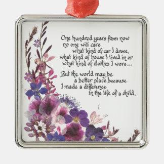Teacher Appreciation Gift Christmas Ornament