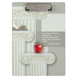 Teacher Appreciation Gift Clipboards