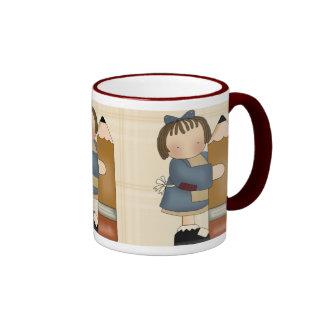 Teacher Appreciation Gift Ringer Mug