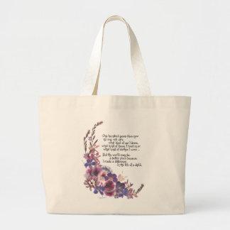 Teacher Appreciation Gift Jumbo Tote Bag