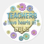 Teacher Appreciation Round Sticker