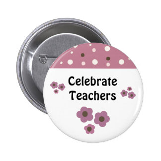 Teacher Appreciation Saying 6 Cm Round Badge