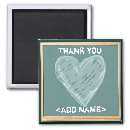Teacher Appreciation Square Magnet