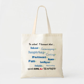 Teacher Appreciation Tote