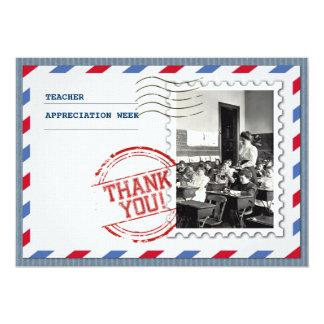 Teacher Appreciation Week. Customizable Cards 13 Cm X 18 Cm Invitation Card