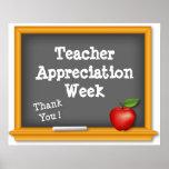 Teacher Appreciation Week Poster, Thank You ! Poster