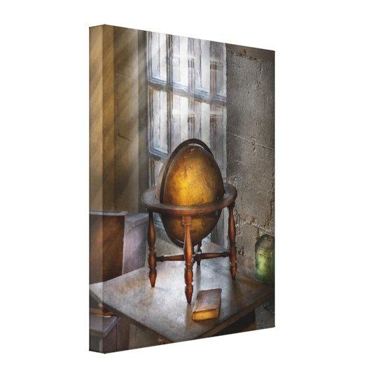 Teacher - Around the world Canvas Print