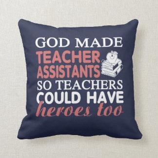 Teacher Assistant - Heroes Cushion