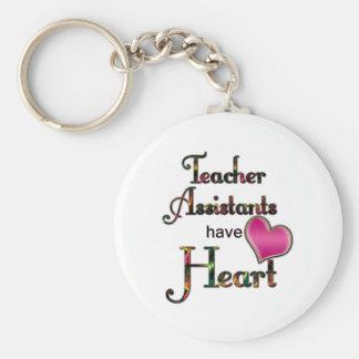 Teacher Assistants Have Heart Key Chain