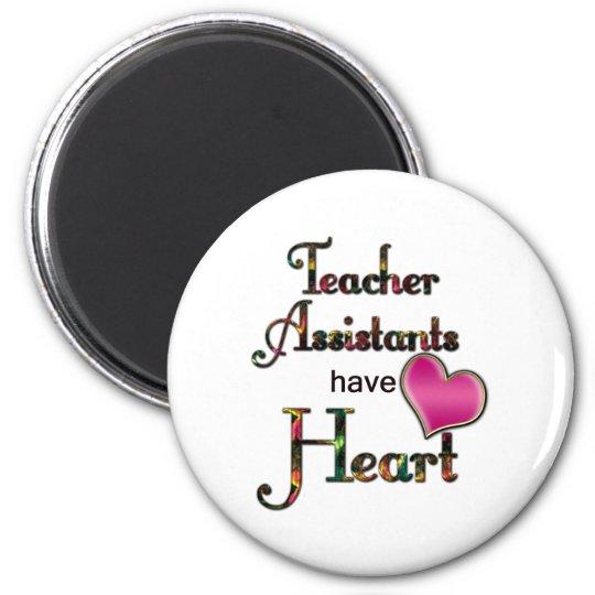 Teacher Assistants Have Heart Magnet