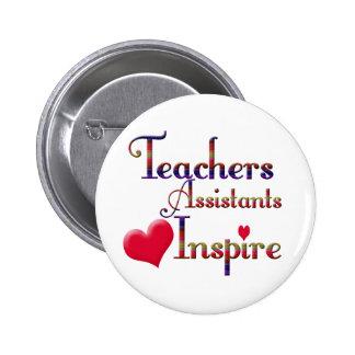 Teacher Assistants Inspire 6 Cm Round Badge