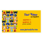 teacher,baby sitter profile card Double-Sided standard business cards (Pack of 100)