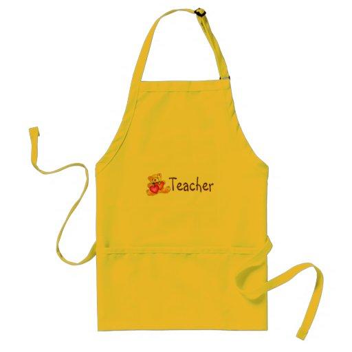 Teacher Bear Apron